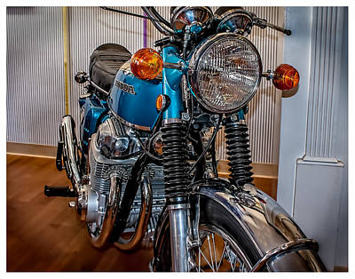 1970 Honda Cb 750 Poster
