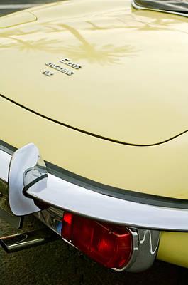 1970 Jaguar Xk Type-e Taillight Poster by Jill Reger