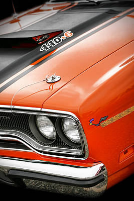 1970 Plymouth Road Runner 440 Poster by Gordon Dean II