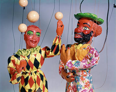 1970s Marionette Puppet Show Circus Poster