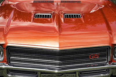 1971 Buick Gs Sport Coupe Poster by Gordon Dean II