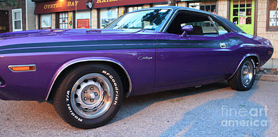 1971 Challenger Side View Poster