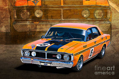 1971 Ford Falcon Xy Gt Poster