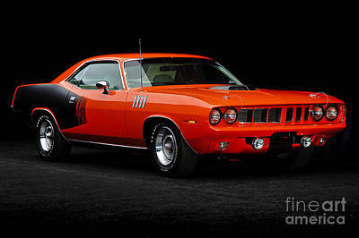 1971 Plymouth Cuda 440 Poster by Howard Koby