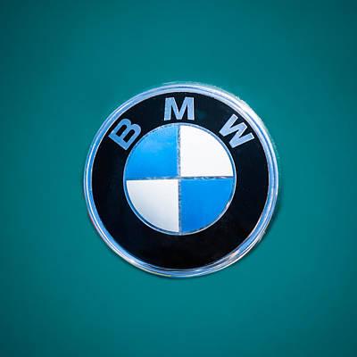 1974 Bmw 2002 Emblem -0889c Poster by Jill Reger