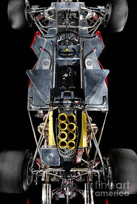 1974 Lola T332  F5000 Race Car V8 5 Litre Chassis Poster by Frank Kletschkus