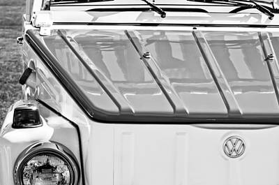 1974 Volkswagen Thing Acapulco Beach Car -3409bw Poster