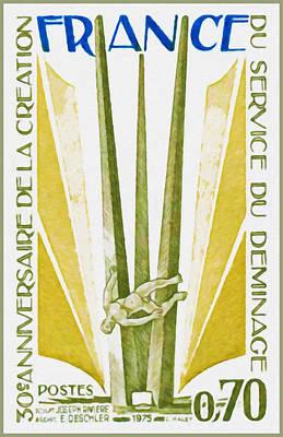 1975 30th Anniversary Of The Establishment Of Service Clearance Sculpt Joseph E. River Archit Deschl Poster by Lanjee Chee