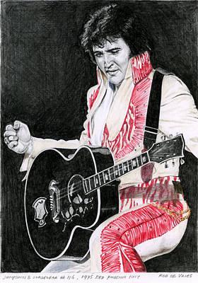 1975 Red Phoenix Suit Poster