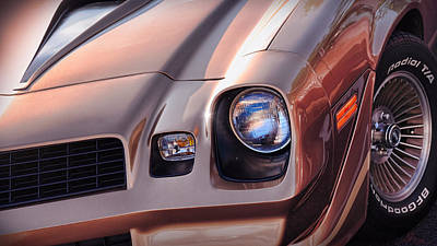 1979 Chevy Camaro Z28 Poster by Gordon Dean II