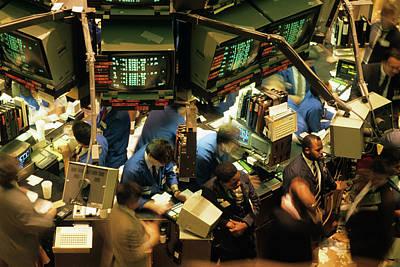 1980s New York Stock Exchange Poster