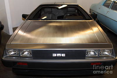 1981 Delorean Dmc-12 5d25674 Poster by Wingsdomain Art and Photography