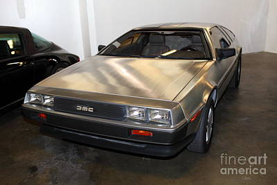 1981 Delorean Dmc-12 5d25676 Poster by Wingsdomain Art and Photography