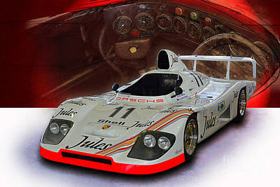 1981 Porsche 936/81 Spyder Poster