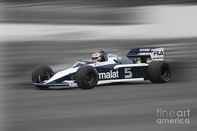 1983 Brabham Bmw Bt52 Poster