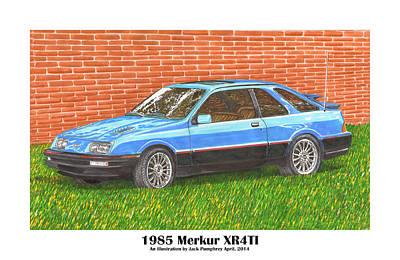 1985 Merkur X R 4 T I Poster