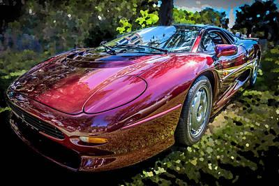 1993 Jaguar Xj 220 Super Car  Poster