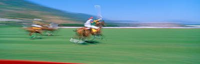 1998 World Polo Championship, Santa Poster by Panoramic Images