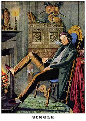 19th C. Bachelorhood Poster