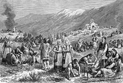 19th Century Fasting Festival Poster by Bildagentur-online/tschanz