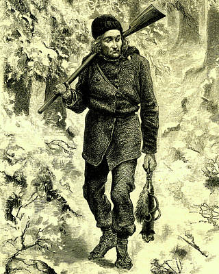 19th Century Hunter Poster