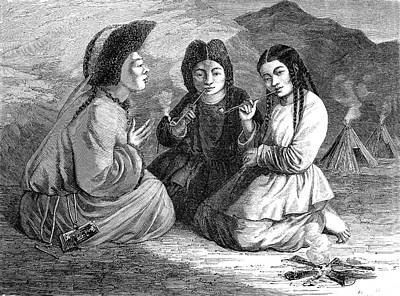 19th Century Khalkha Women Poster