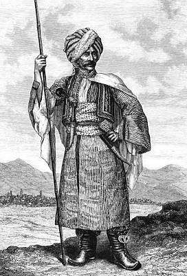 19th Century Kurdistan Chief Poster by Collection Abecasis
