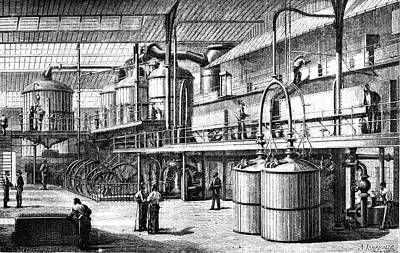 19th Century Sugar Factory Poster