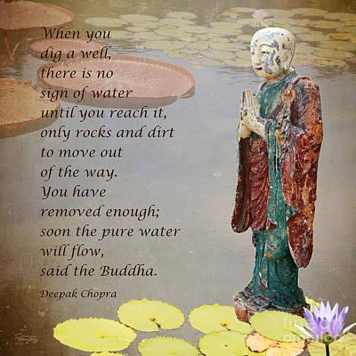 ... Said The Buddha Poster