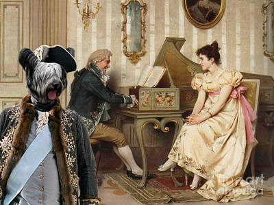 Skye Terrier Art Canvas Print  Poster by Sandra Sij