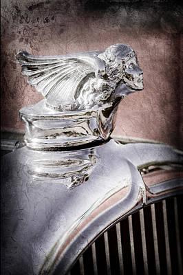 1927 Buick Goddess Hood Ornament Poster by Jill Reger