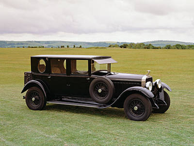 1927 Hispano Suiza H6b, 4-door Poster by Panoramic Images