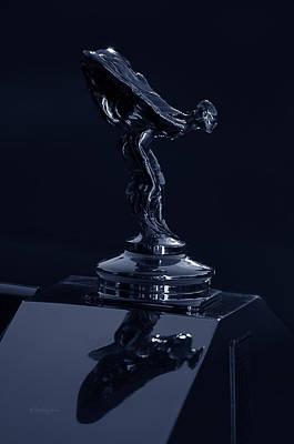 1930 Rolls Royce Emblem II Poster by Xueling Zou