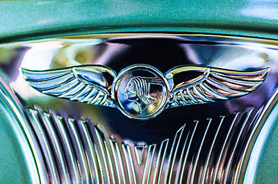 1933 Pontiac Emblem Poster by Jill Reger