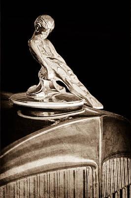 1934 Packard Hood Ornament Poster