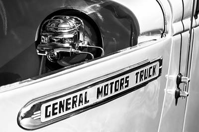 1940 Gmc Pickup Truck Emblem Poster