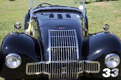1947 Allard K1 Roadster Poster