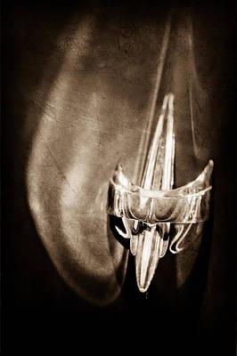 1949 Mercury Woody Wagon Hood Ornament Poster