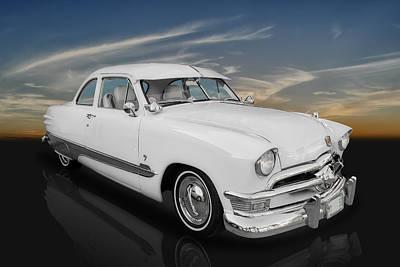 1950 Ford Custom V8 Poster