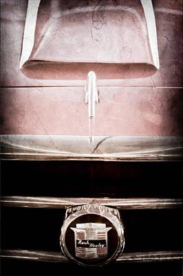 1953 Nash-healey Roadster Grille Emblem Poster by Jill Reger