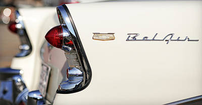 1956 Chevrolet Bel Air Poster by Gordon Dean II