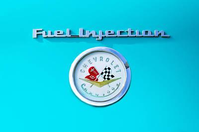 1957 Chevrolet Corvette Emblem Poster
