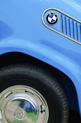 1959 Bmw Isetta 600 Limousine Emblem Poster