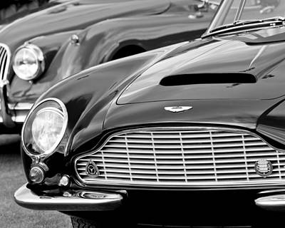1965 Aston Martin Db6 Short Chassis Volante Poster by Jill Reger