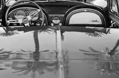 1965 Chevrolet Corvette Sting Ray Poster by Jill Reger