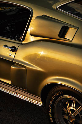1968 Ford Mustang Shelby Gt 350 Poster