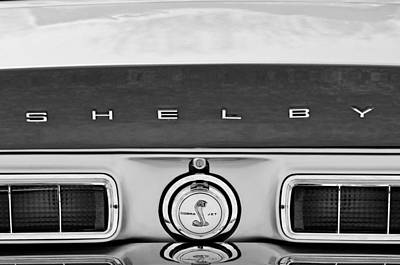 1968 Ford Shelby Gt500 Kr Convertible Rear Emblems Poster