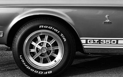1968 G.t. 350 Shelby Cobra Ford Mustang Poster