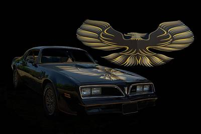 1978 Pontiac Trans Am  Poster by Tim McCullough