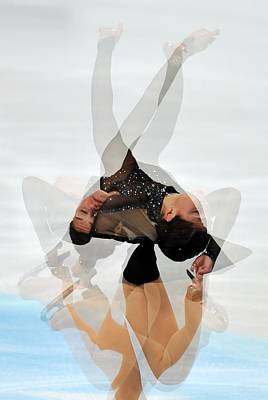 2012 European Figure Skating Poster by Science Photo Library